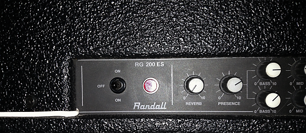 Randall Century 200 Early Model (RG200ES) - Original First Series Run  *Extremely Rare* | Pantera Amp