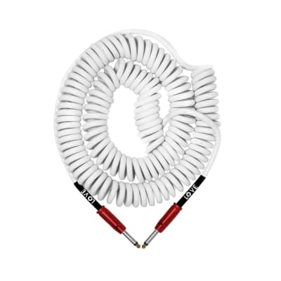 BULLET CABLE 30′ GEARMANNDUDE SIGNATURE WHITE COILY CABLE OF LOVE