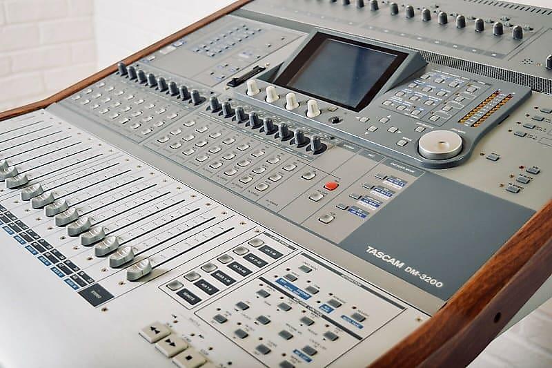 tascam dm 3200 digital mixing console near mint reverb. Black Bedroom Furniture Sets. Home Design Ideas