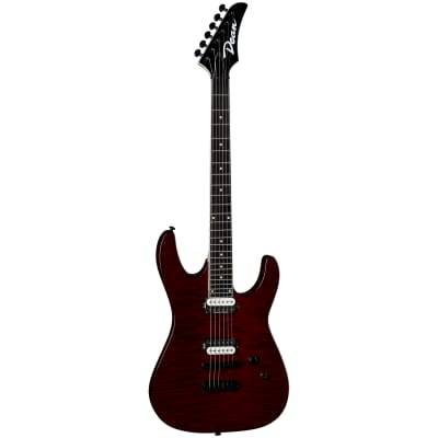 Dean  MD 24 Select Flame Top Trans Cherry 2020 Flame Top Trans Cherry red