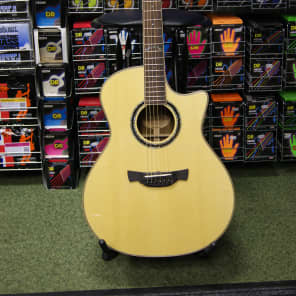 Crafter GLXE3000/OV Grand Auditorium electro-acoustic guitar & Crafter Deluxe Hard Case for sale