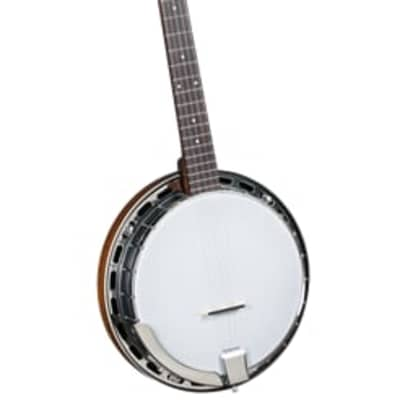 Rover 5 String Resonstor Banjo, Cloed Back for sale