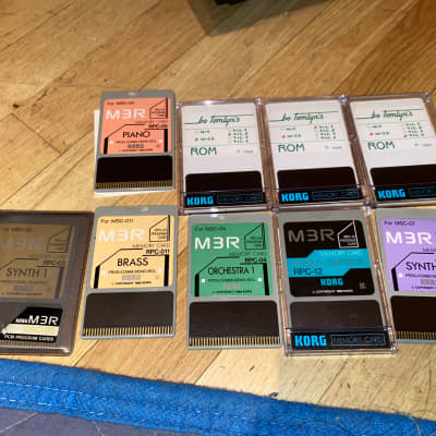 Korg M3R Memory Cards