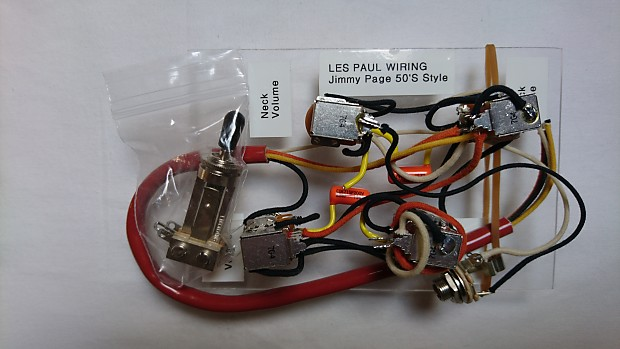 Les Paul Jimmy Page '50s Style Wiring Harness Kit / Orange Drop Caps Jimmy Page Wiring Harness on jimmy page fender, jimmy page signature eds-1275, jimmy page pickups, jimmy page guitar setup, jimmy page number 1, jimmy page pickguard,