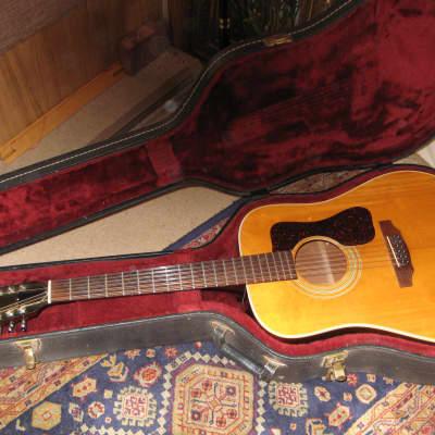 Guild G-212 Natural 1975 / Vintage Hard Case