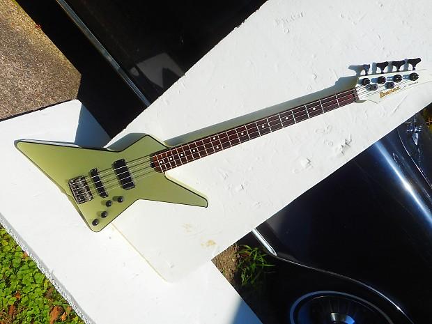 ibanez x series destroyer bass guitar 1985 japan silver reverb. Black Bedroom Furniture Sets. Home Design Ideas