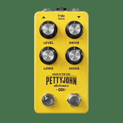 ODI by Pettyjohn Electronics  - The Classic Overdrive, Reborn / 2020 Yellow