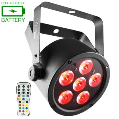 Chauvet DJ EZpar T6 USB Battery-Operated Tri-Color RGB LED Wash Light