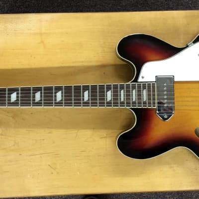 Late '90s Epiphone Casino Reissue VCB W/Deluxe HS Case