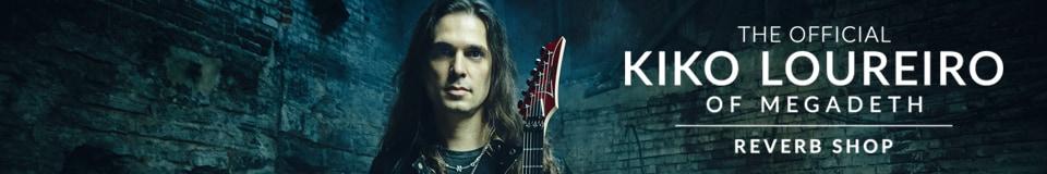 The Official Kiko Loureiro of Megadeth Reverb Shop