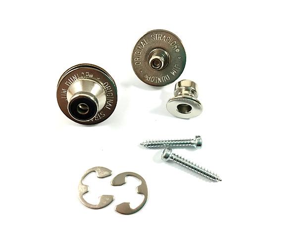 Jim Dunlop SLS1501N Straplock System Nickle Trad