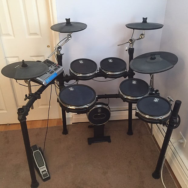alesis dm10 w mesh heads and midi cable nolan s gear reverb