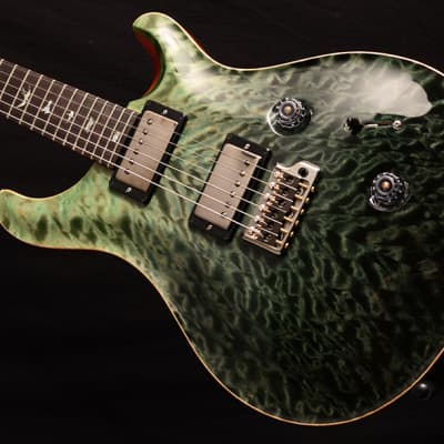 NEW Paul Reed Smith Wood Library Custom 24 Fatback in Brian's Limited Trampas Green Fade! for sale
