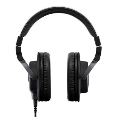 Yamaha - HPH-MT5 Monitor Headphones, Black