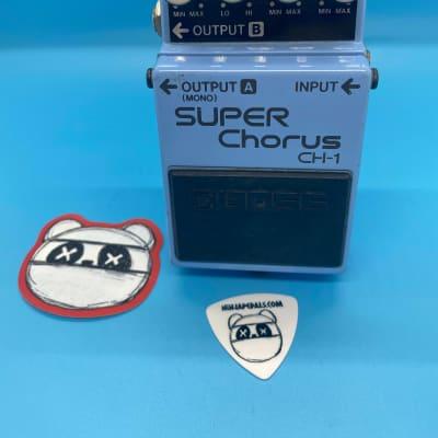 Boss CH-1 Super Chorus | Rare Blue Label (Analog Version) | Fast Shipping!