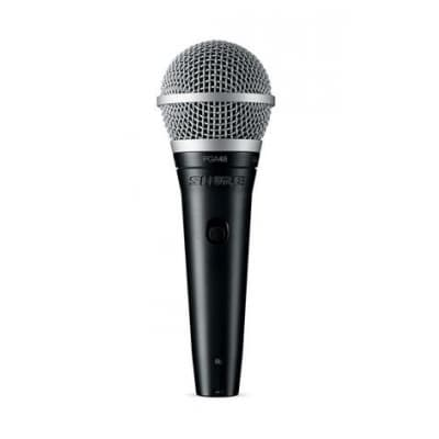 Shure PGA48-XLR Handheld Vocal Microphone with 15ft XLR Cable