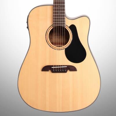 Alvarez AD30CE Dreadnought Acoustic-Electric Guitar