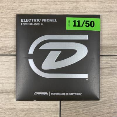 Dunlop Performance+ Nickel Wound Electric Guitar Strings, 11-50, Medium