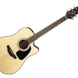 Takamine Dreadnought Acoustic Guitar - Gloss Natural/Rosewood - GD30CENAT for sale