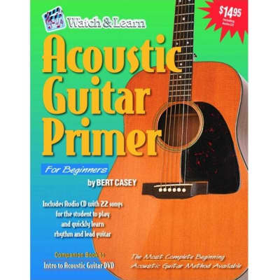 Acoustic Guitar Primer for Beginners - Revised Edition (w/ CD)