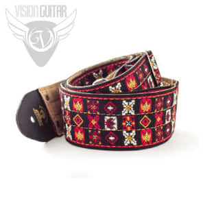 Dunlop JH01 Jimi Hendrix Woodstock Strap - Authentic Hendrix LLC Approved