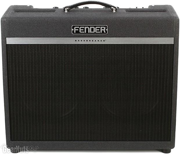 fender bassbreaker 18 30 30 18 watt 2x12 tube combo reverb. Black Bedroom Furniture Sets. Home Design Ideas