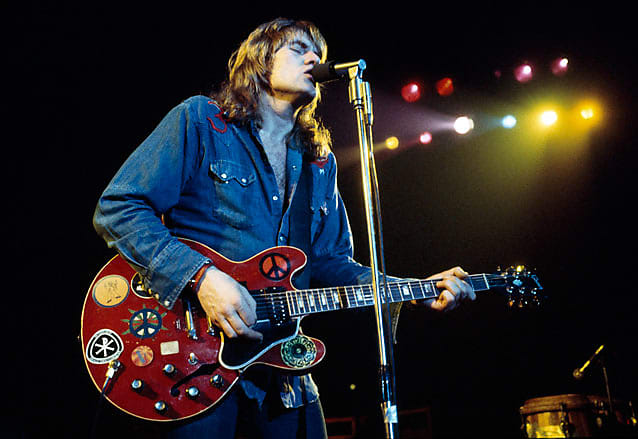 Alvin Lee Guitar Stickers Ten Years After Gibson Big Red