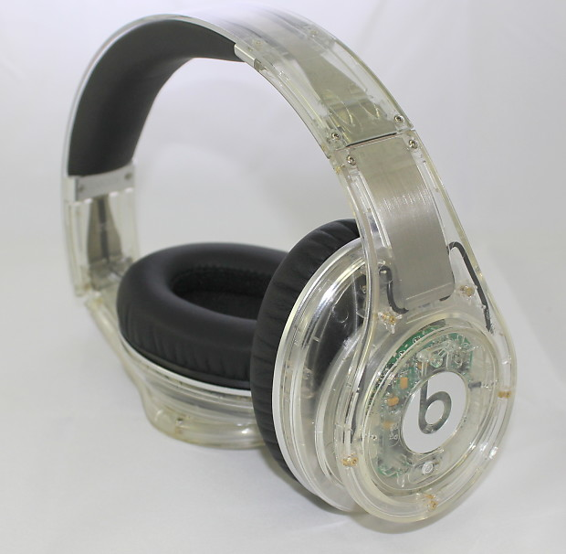 Beats by Dre Beats Studio Over-Ear Headphone Black Clear