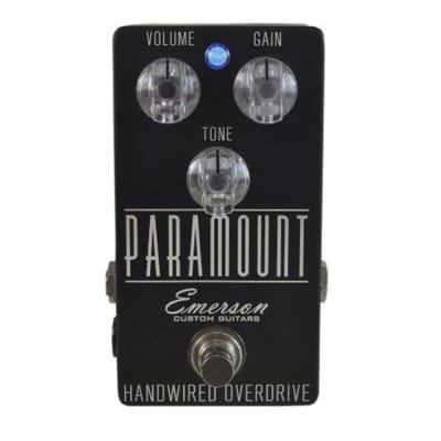 Emerson Custom Paramount Overdrive - Matte Black for sale