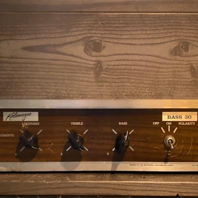 Kalamazoo Bass 30 Vintage Tube Amplifier Head Serviced & Ready for sale