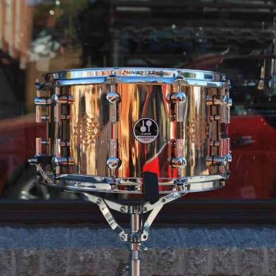 """Sonor 8x14"""" Danny Carey Signature Bronze Snare Drum"""