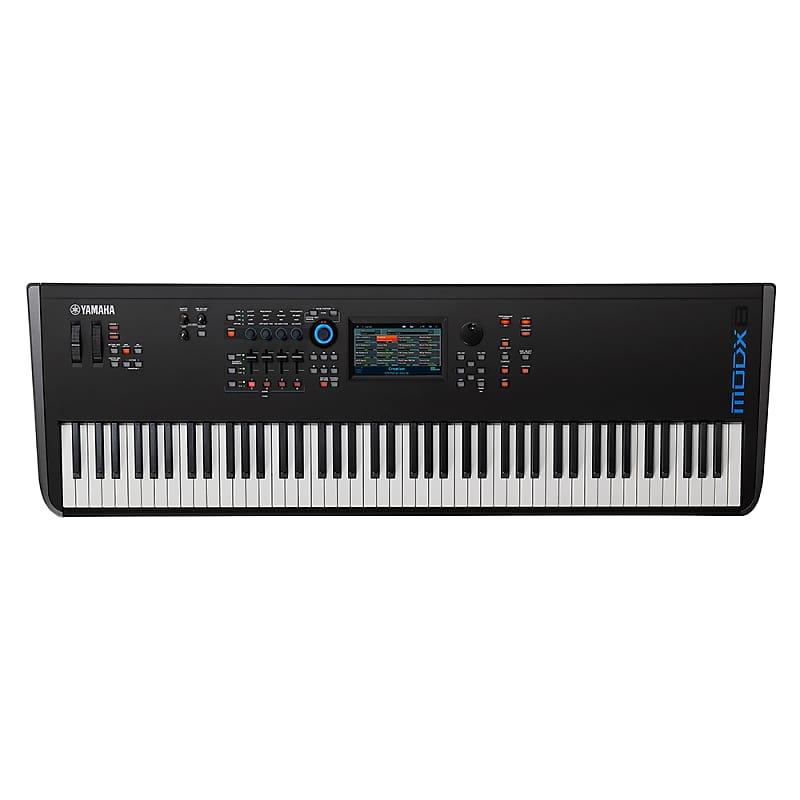 Yamaha MODX8 88-Key Synth DAW VST Control USB Audio Interface Keyboard w/  MIDI