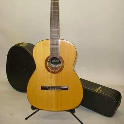 Vintage 1974 Giannini AWN85 Classical Nylon String Acoustic Guitar w/ Case for sale
