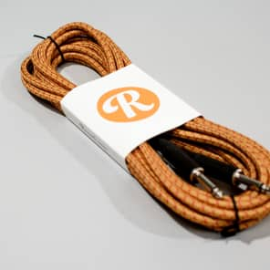 "Reverb 20-foot 1/4"" Guitar Cable - Orange"