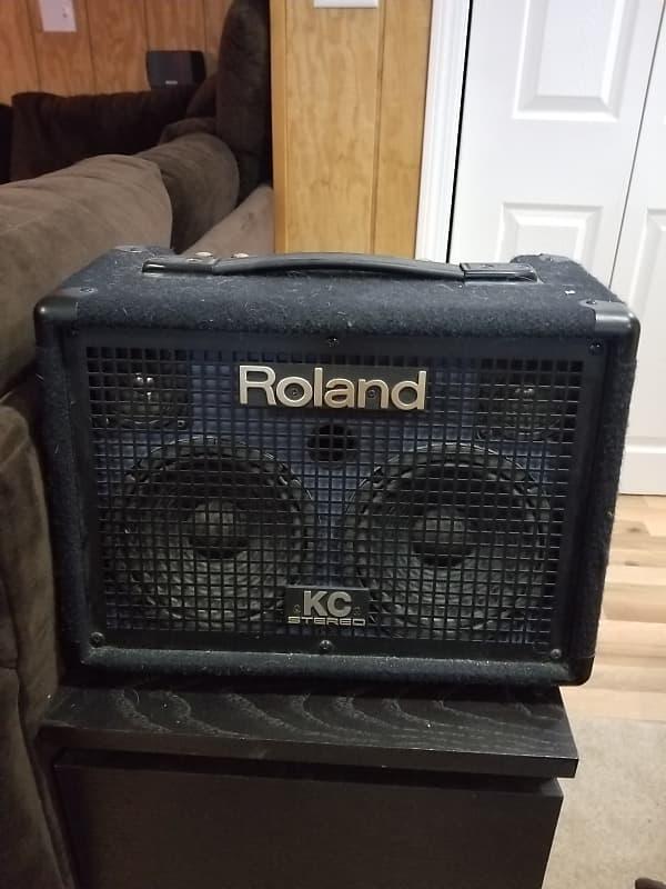 roland kc 110 battery powered stereo keyboard amp reverb. Black Bedroom Furniture Sets. Home Design Ideas