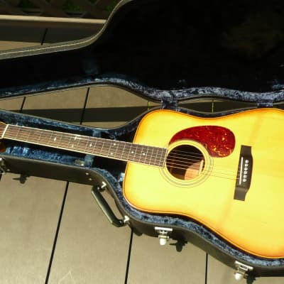 Blue bell W350 D28 copy Japan Vintage Guitar 1970's Natural for sale