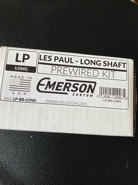 emerson wiring harness lp long shaft reverb emerson wiring harness lp long shaft