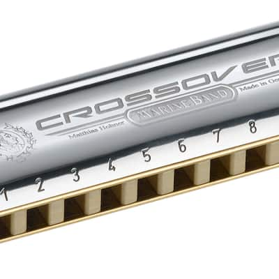 Hohner M2009 Marine Band Crossover Harmonica - Key of F#