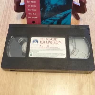 VHS Vintage Artist 1993--The Concert For Bangladesh--George Harrison & Friends
