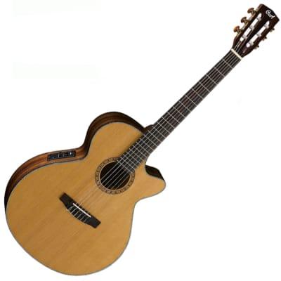 Cort CEC7 Nylon Classical Guitar Natural 45mm 1 3/4
