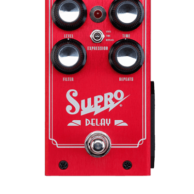 Supro 1313 Analog Delay Pedal