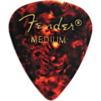 Fender Classic Shell Medium Picks, 12-pack for sale