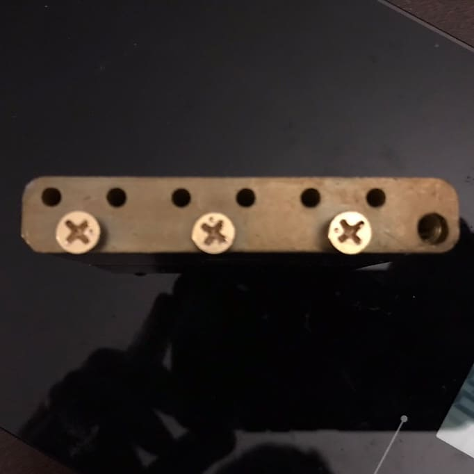 Brass Tremolo Block Sustain Fender American Vintage Tremolo