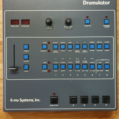 E-MU Systems Drumulator 1983 Vintage Drum Machine With MIDI