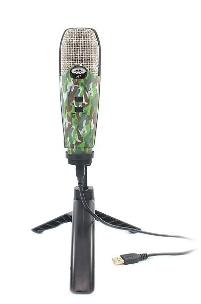 cad u37 usb studio condenser vocal recording microphone reverb. Black Bedroom Furniture Sets. Home Design Ideas