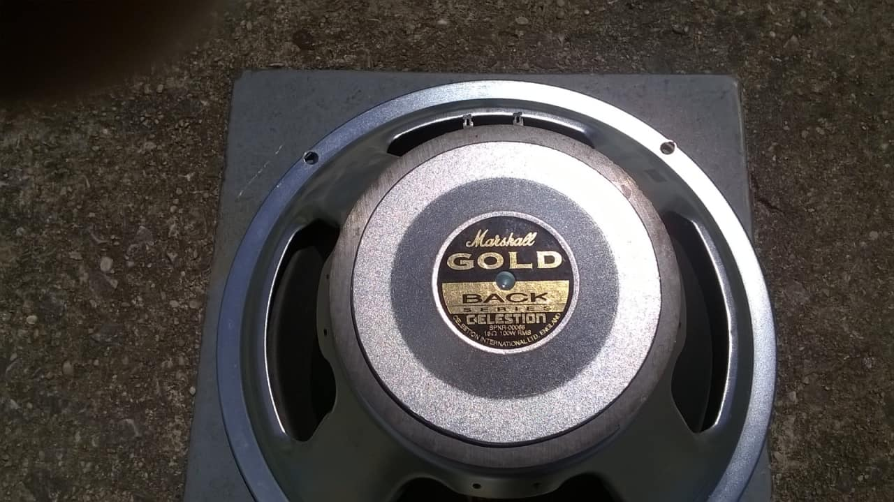 celestion marshall 12 gold back reverb. Black Bedroom Furniture Sets. Home Design Ideas