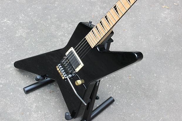 jackson charvel star parts guitar black reverb. Black Bedroom Furniture Sets. Home Design Ideas