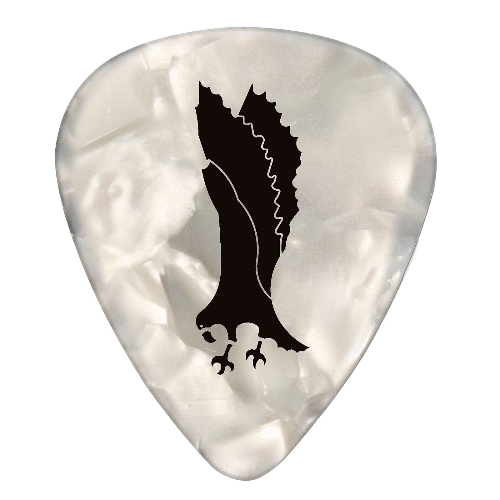 Paul Reed Smith PRS White Pearloid Celluloid Guitar Picks (12) – Thin