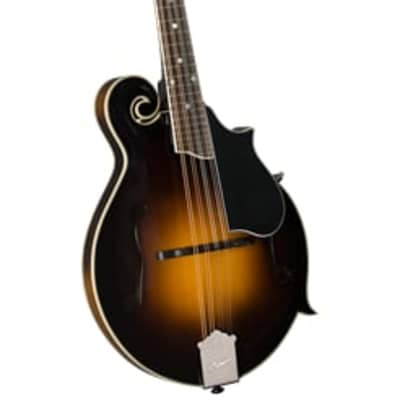 Kentucky KM-750 Deluxe F-Model Mandolin - Sunburst - With deluxe padded bag for sale