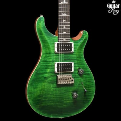 PRS Custom 24 Pattern Thin Emerald Green Natural Back
